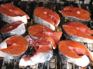 grilling Ideas: grilled salmon