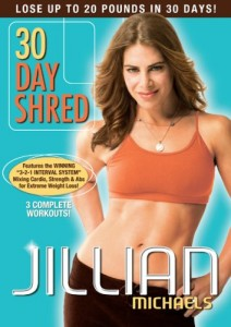 30 day shred jillian Michaels